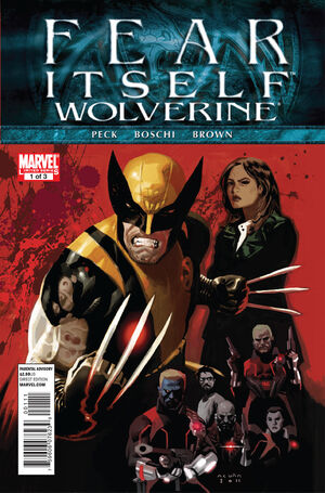 Fear Itself Wolverine Vol 1 1