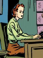 Harris' secretary (Earth-616) from Marvel Comics Vol 1 1 0001