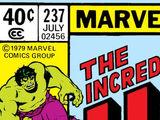 Incredible Hulk Vol 1 237