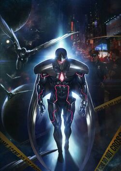 Infinity Countdown Darkhawk Vol 1 1 Textless