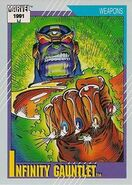 Infinity Gauntlet (Item) from Marvel Universe Cards Series II 0001