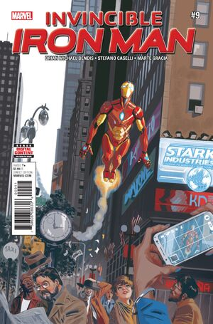 Invincible Iron Man Vol 4 9