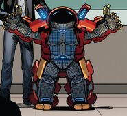 Iron Man Armor Model 51 from Invincible Iron Man Vol 3 4 002