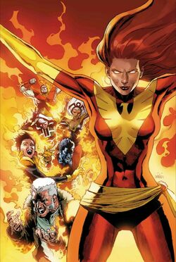 Phoenix Resurrection The Return of Jean Grey Vol 1 1 Textless
