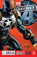 Secret Avengers Vol 2 1 Quesada Variant