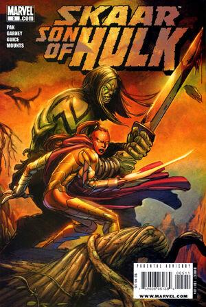 Skaar Son of Hulk Vol 1 5