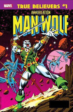 True Believers Annihilation - Man-Wolf in Space Vol 1 1