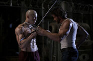 Wade Wilson and James Howlett (Earth-10005) from X-Men Origins Wolverine 0002