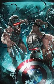 Wolverine & Captain America Weapon Plus Vol 1 1 Textless