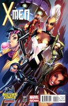 X-Men Vol 4 1 Campbell Midtown Comics Variant