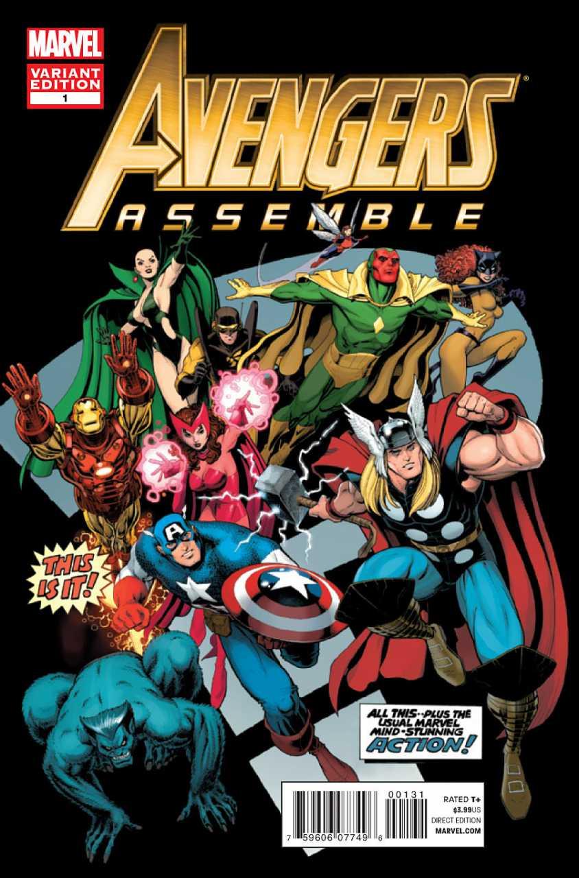Avengers Assemble Vol 2 1 Adams Variant