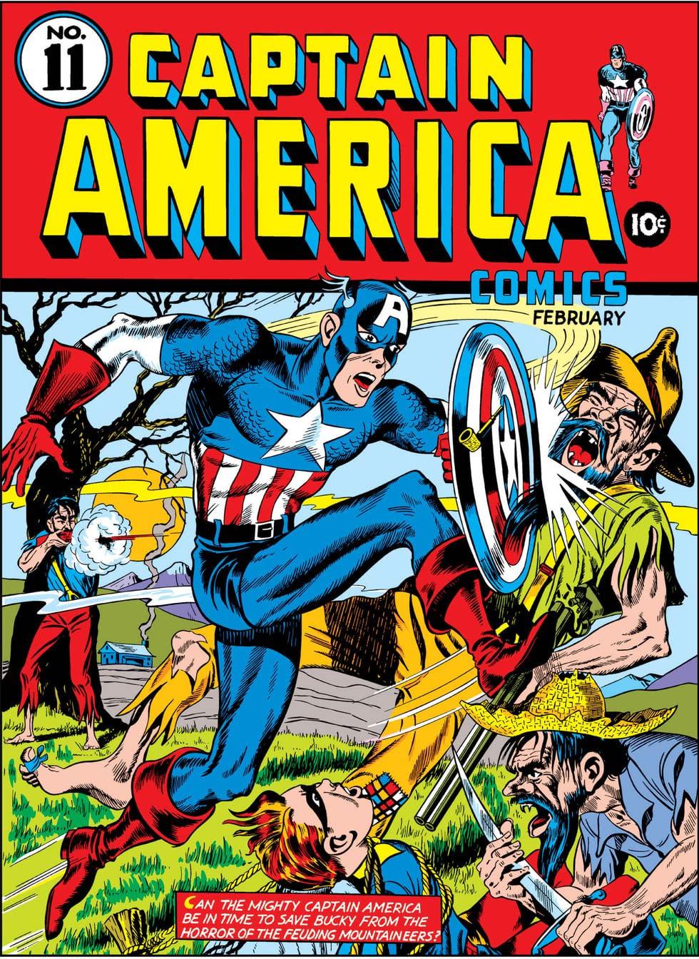 Captain America Comics Vol 1 11