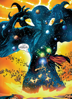 Eternity (Earth-2301), Stephen Strange (Earth-2301), and Mindless Ones from Marvel Mangaverse Vol 1 6 0001