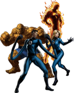 Fantastic Four (Earth-12131) from Marvel Avengers Alliance 001