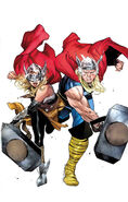 Generations The Unworthy Thor & The Mighty Thor Vol 1 1 Coipel Variant Textless