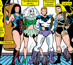 Grapplers (Earth-616) from Marvel Two-in-One Vol 1 56 001