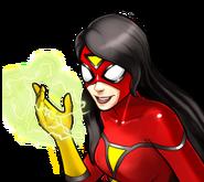 Jessica Drew (Earth-TRN562) from Marvel Avengers Academy 008