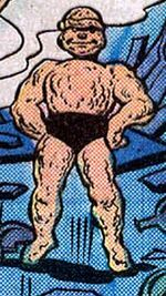 Kid Monstro (Earth-616) from Marvel Two-In-One Vol 1 78 0001