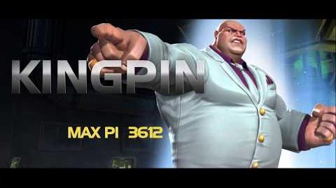 Kingpin Special Moves Marvel Contest of Champions