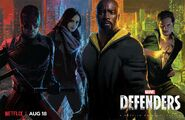 Marvel's The Defenders poster 002