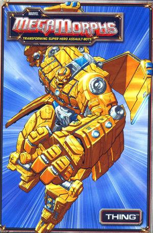 Marvel MegaMorphs Thing Vol 1 1