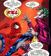 Peter Parker (Earth-7642) from Spider-Man and Batman Vol 1 1 003