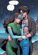 Rogue (Anna Marie) (Earth-616) and Remy LeBeau (Earth-616) from Excalibur Vol 4 1 001