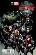 Secret Avengers Vol 2 1 Yu Variant
