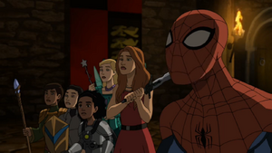 Spider-Man and Jessie in Ultimate Spider-Man Season 3 14