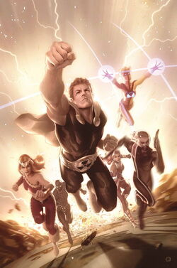 Squadron Supreme Vol 4 5 Textless