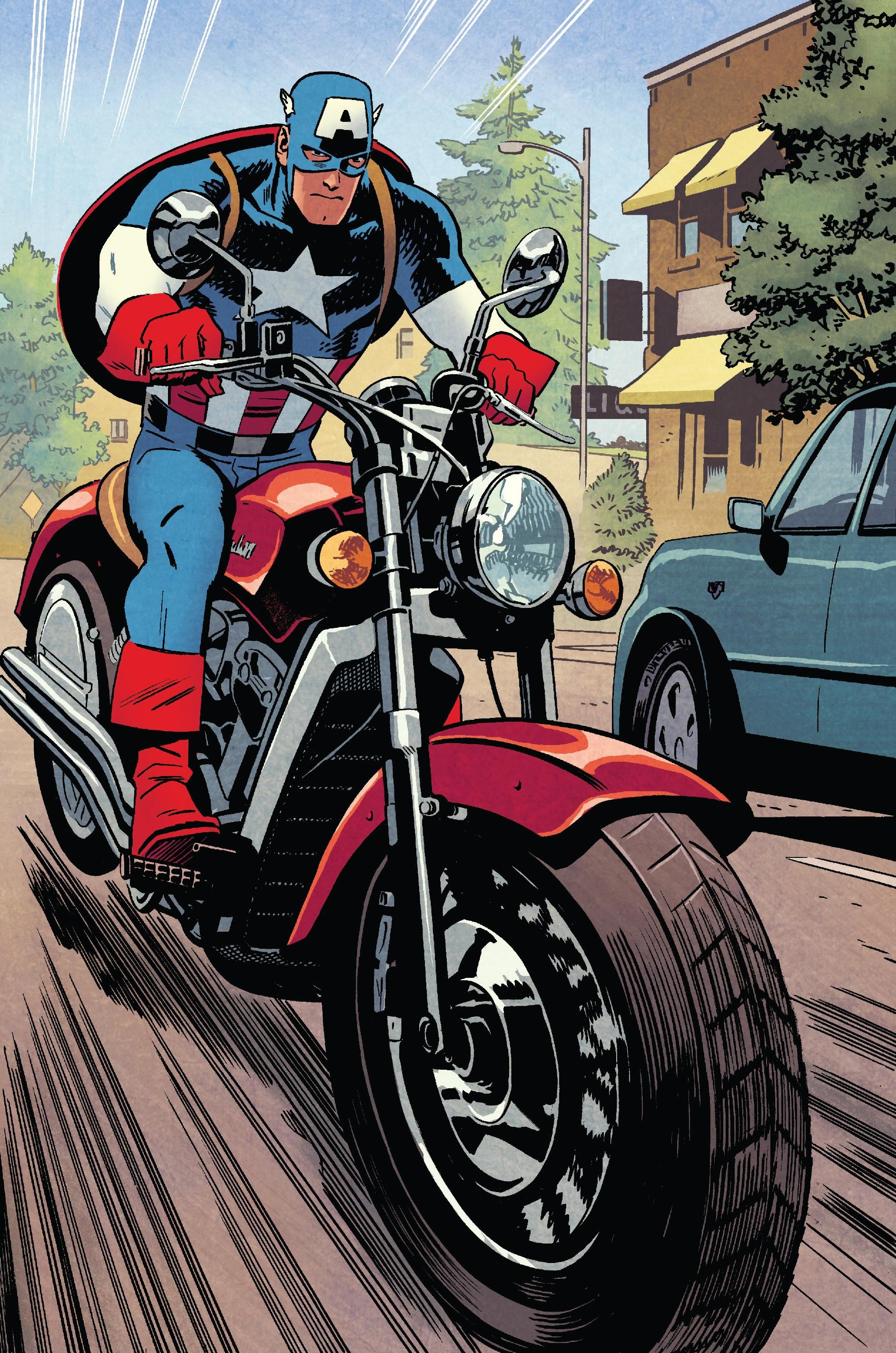 Captain America S Motorcycle Marvel Database Fandom