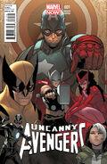 Uncanny Avengers Vol 1 1 Pichelli Variant