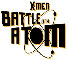 X-Men Battle of the Atom (2013) Logo