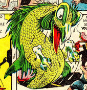 Aquasaurus Rex (Earth-616) from Sub-Mariner Comics Vol 1 30 0001
