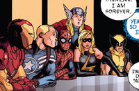 Avengers (Earth-12011) from Shame Itself Vol 1 1 0001