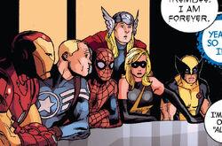 Avengers (Earth-12011) from Shame Itself Vol 1 1 0001
