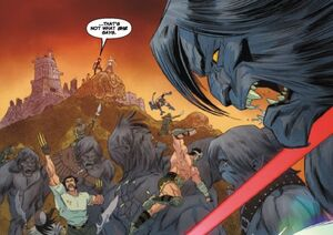 Beasts (Earth-13059) from X-Treme X-Men Vol 2 9 0001