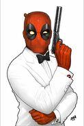 Deadpool Secret Agent Deadpool Vol 1 1 Textless