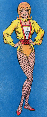 Glynis Zarkov (Earth-616) from Official Handbook of the Marvel Universe Vol 2 5 0001
