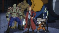 Guardians of the Galaxy (Earth-14042) from Marvel Disk Wars The Avengers Season 1 24 001