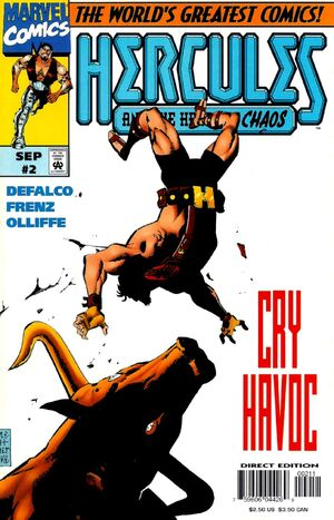 Hercules Heart of Chaos Vol 1 2
