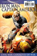Iron Man Captain America Casualties of War Vol 1 1 Cover B