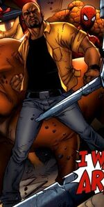 Luke Cage (Earth-97161) from Avengers vs, Pet Avengers Vol 1 2 001