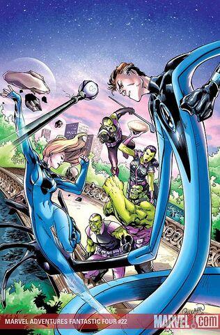 File:Marvel Adventures Fantastic Four Vol 1 22 Textless.jpg