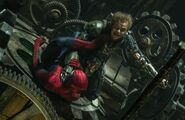Peter Parker (Earth-120703) and Harold Osborn (Earth-120703) from The Amazing Spider-Man 2 (film) 0001