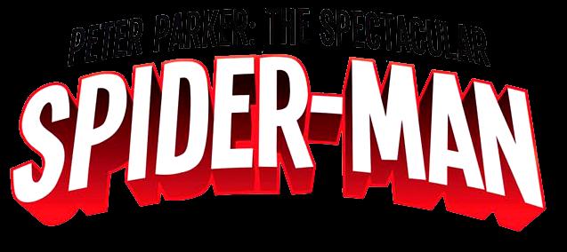 File:Peter Parker Spectacular Spider-Man (2017) logo.png