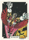 Samuel Wilson (Earth-616) from Mike Zeck (Trading Cards) 0001