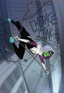 Spider-Gwen Ghost-Spider Vol 1 5 Skrulls Variant Textless
