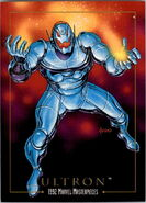 Ultron (Earth-616) from Marvel Masterpieces Trading Cards 1992 0001