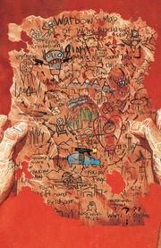 Warbow's Map of Weirdworld from Weirdworld Vol 1 3